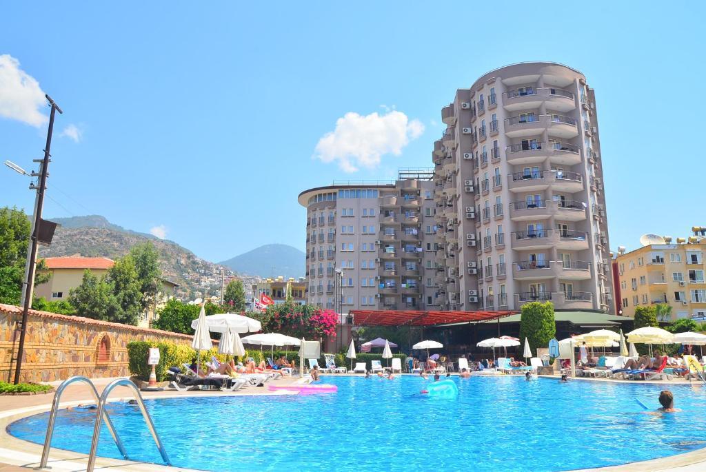 Club sidar apart hotel alanya turkey for Corse appart hotel