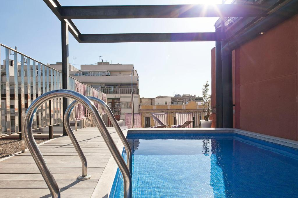 Apartment Barcelona Rentals - Pool Terrace in City Center