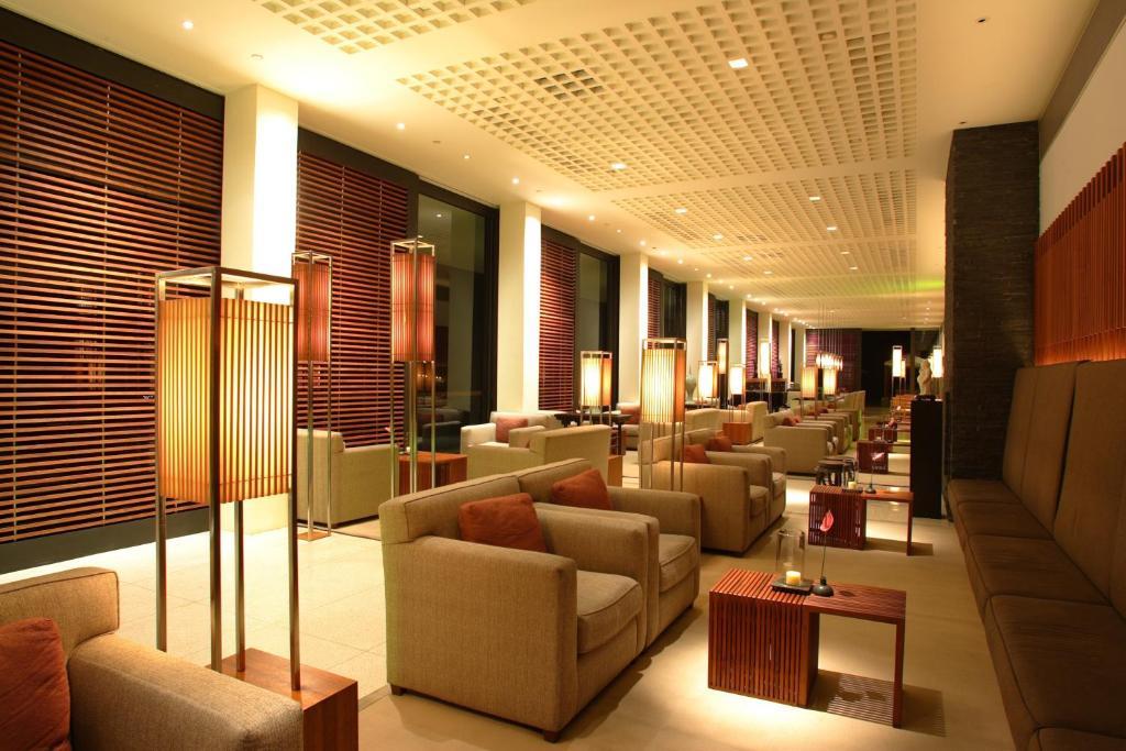 The lounge or bar area at The Lalu Sun Moon Lake