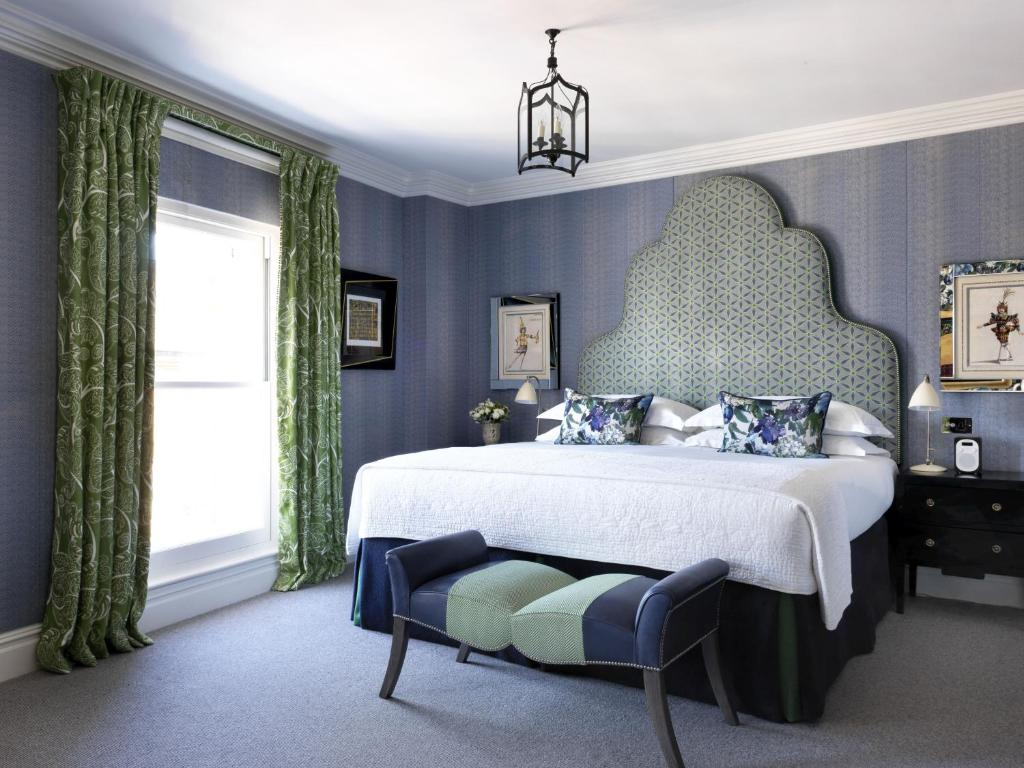 A room at Charlotte Street Hotel, Firmdale Hotels