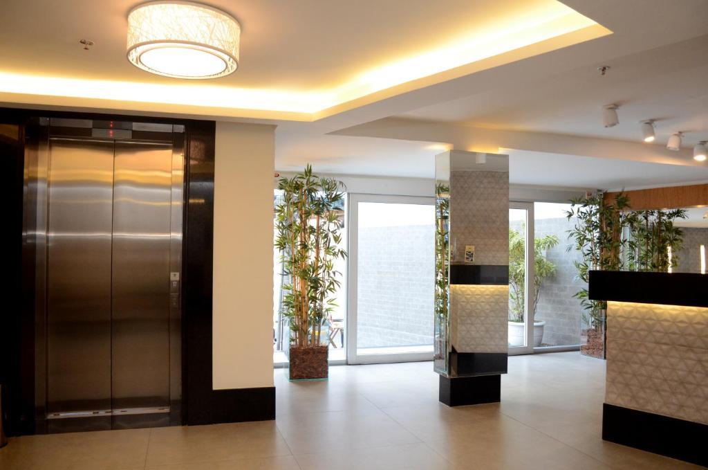 The lobby or reception area at Saionara Hotel