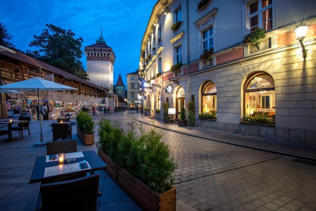 Hotel Polski Pod Bialym Orlem Polen Krakau Bookingcom
