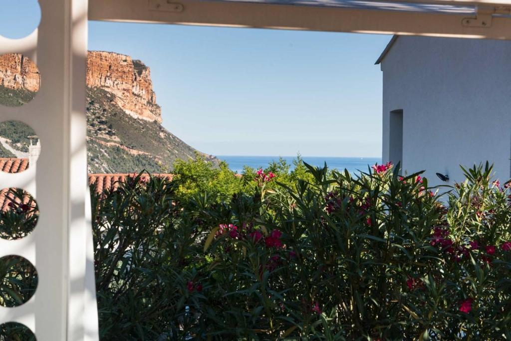 A balcony or terrace at Villa Mandine