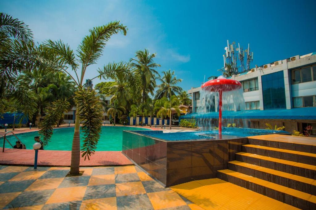 silver sands beach resort colva india. Black Bedroom Furniture Sets. Home Design Ideas