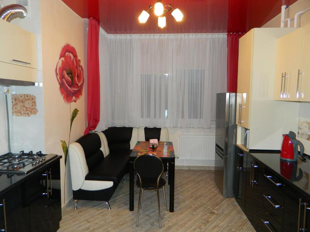 Гостиная зона в VIP 1 bedroom in the centre