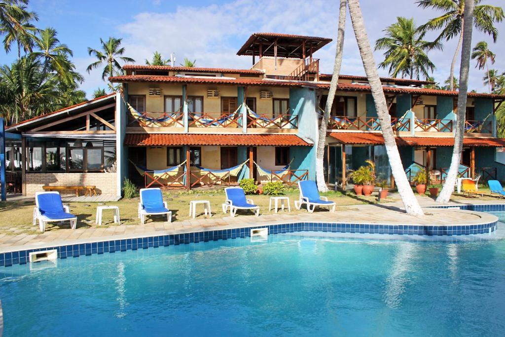 The swimming pool at or near Albacora Praia Hotel