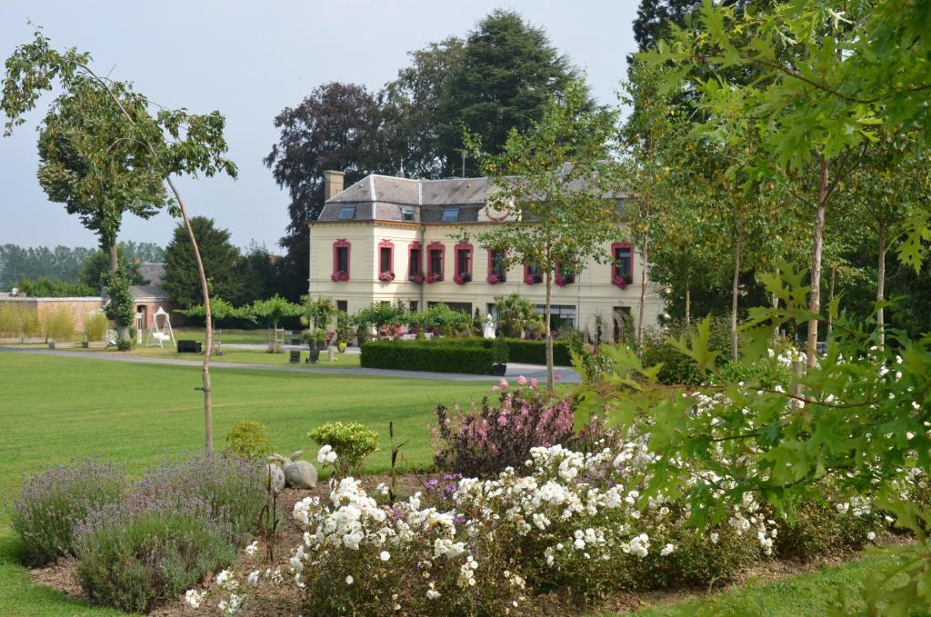 Jardin de l'établissement Le Domaine des Fagnes