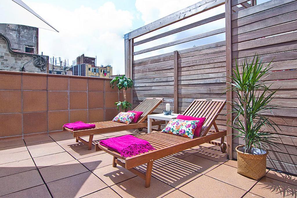 Apartment Barcelona Rentals - Gracia Pool Apartments Center fotografía