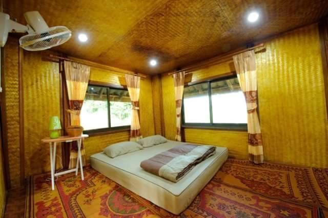 Ett rum på Ban Mai Hom Homestay