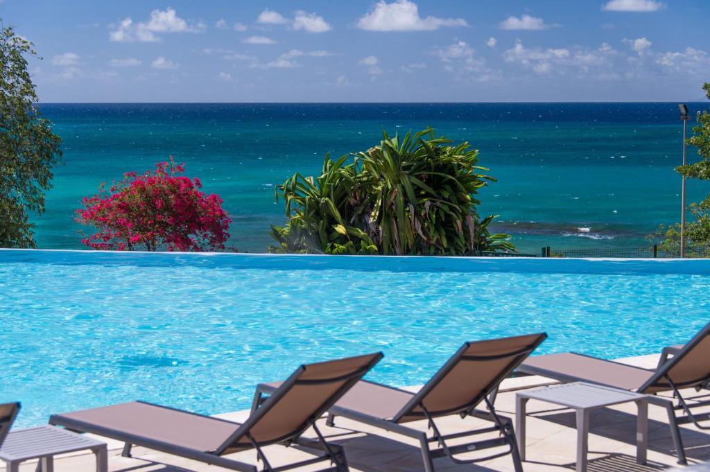 The swimming pool at or close to Karibea Sainte Luce Hotel