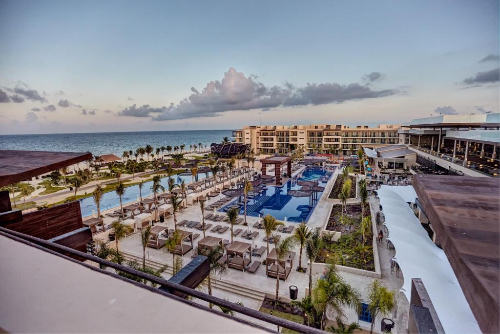 A view of the pool at Royalton Riviera Cancun Resort & Spa - All Inclusive or nearby