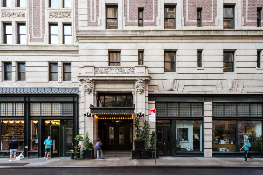 The facade or entrance of Ace Hotel New York