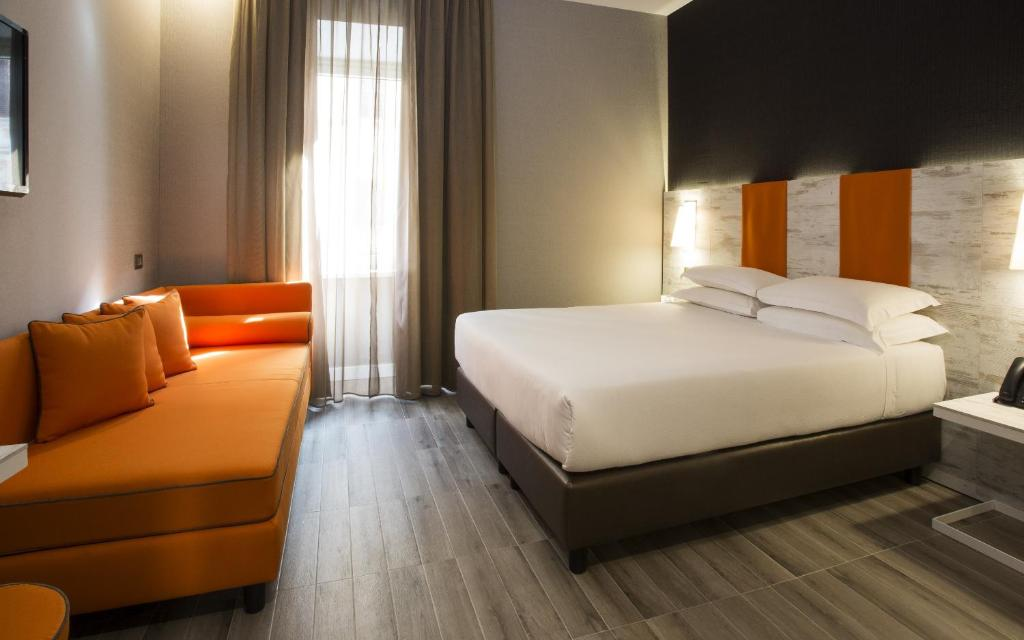 A room at Smooth Hotel Rome Termini