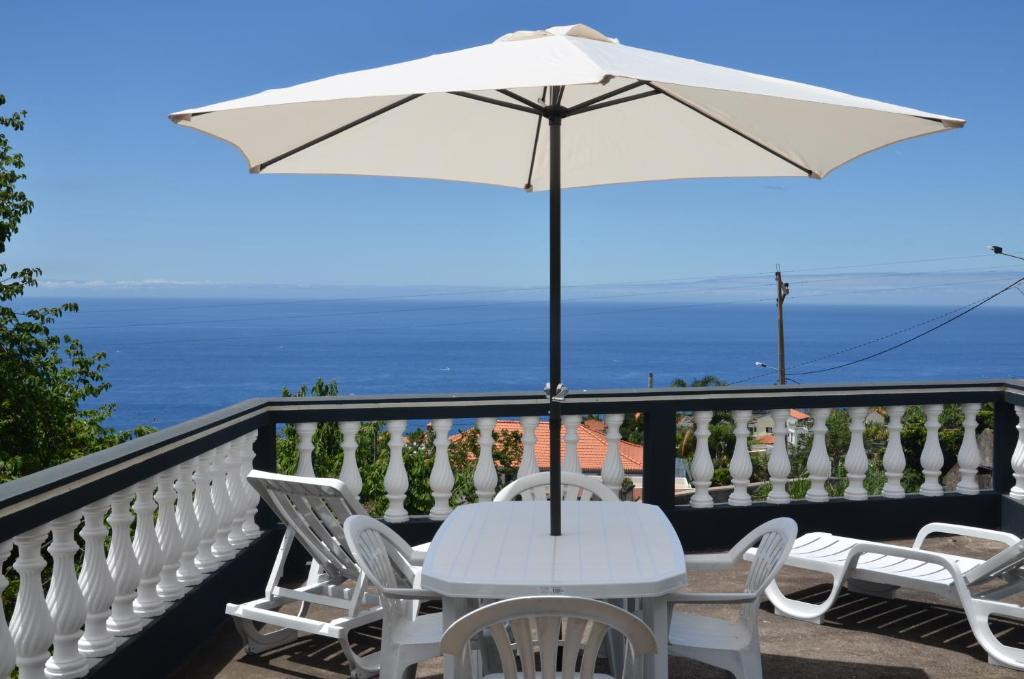 A balcony or terrace at The Dream Apartament