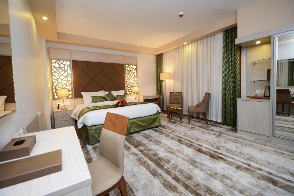 A room at Bosphorus Hotel