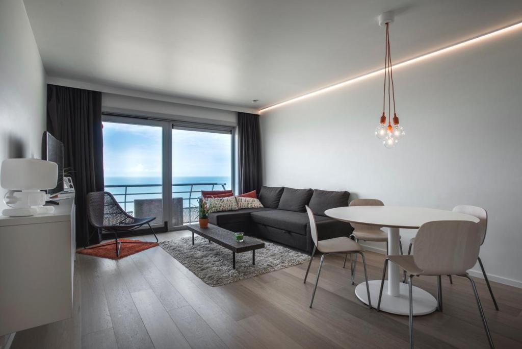 Appartement studio zeezicht belgi oostende for Studio inrichten