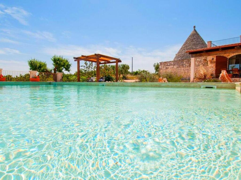 Indoor pool grotte  Holiday home Trullo Sotto Le Stelle, Castellana Grotte, Italy ...