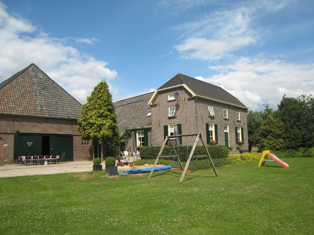 A garden outside Hertenbroeksgoed