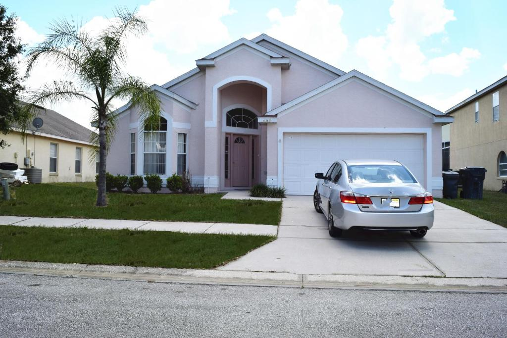 vacation home disney 4 bedrooms house with pool, kissimmee, fl