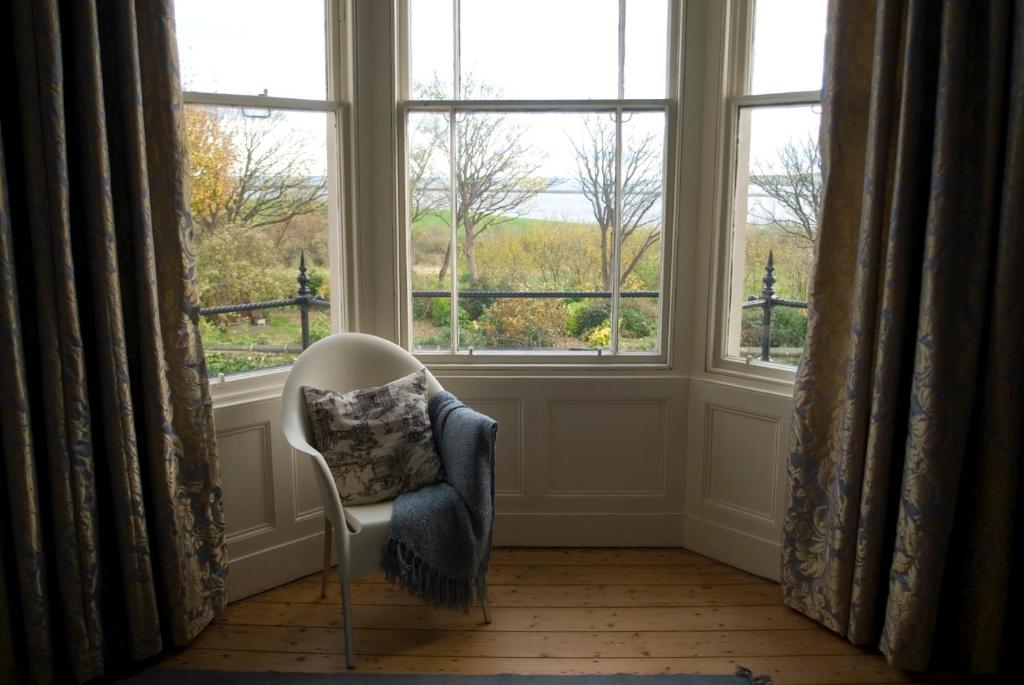 A seating area at Collingwood House Tynemouth