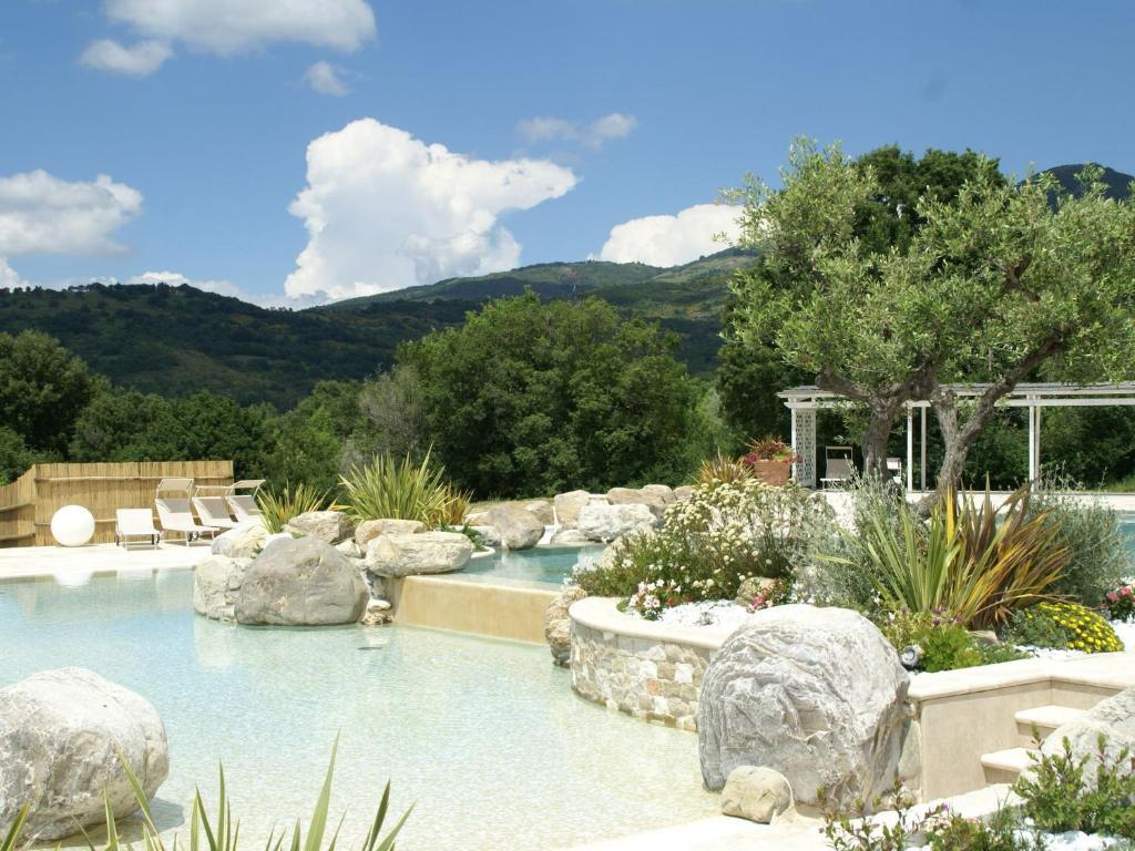 The swimming pool at or near Podere Vallerona La Caciaia
