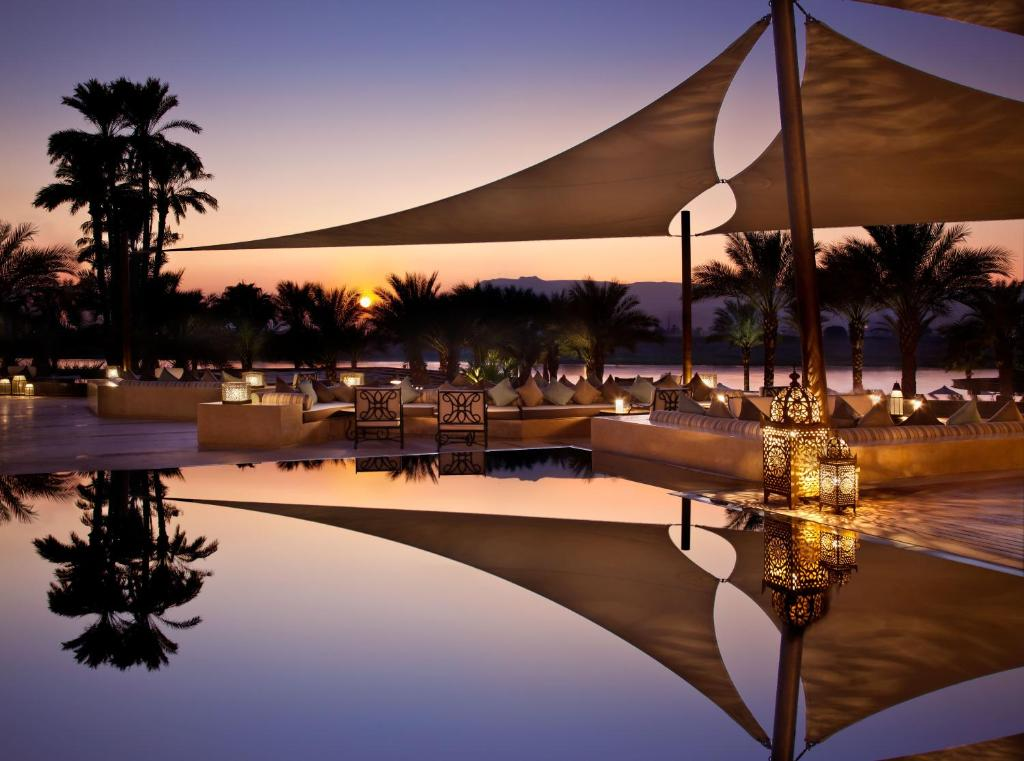 The swimming pool at or near Hilton Luxor Resort & Spa