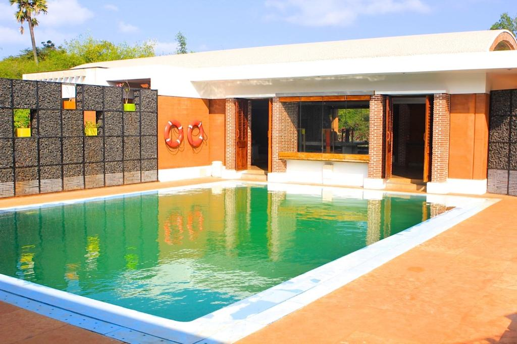Bouganvilla auroville pondicherry india Budget hotels in pondicherry with swimming pool