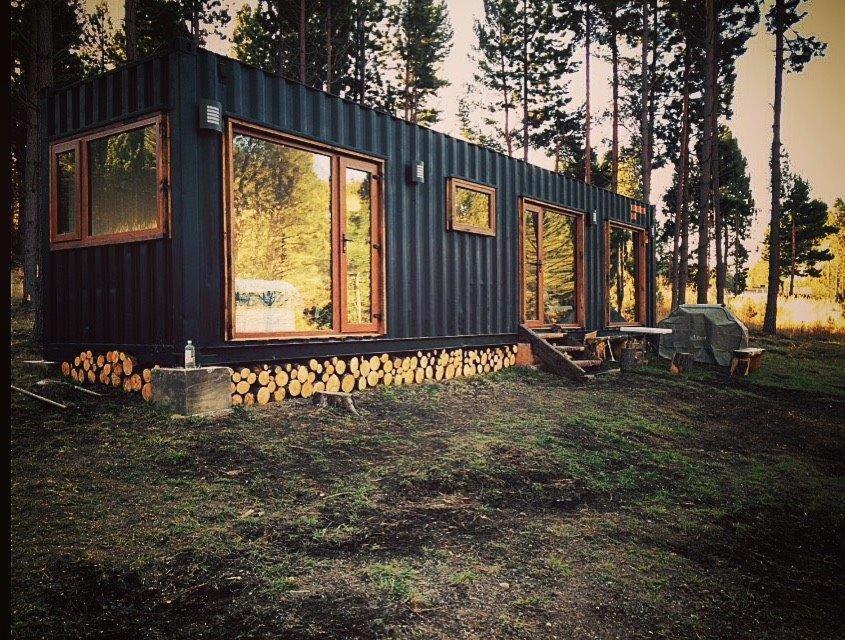 Casa o chalet casa container chile coyhaique - Precio casa container ...