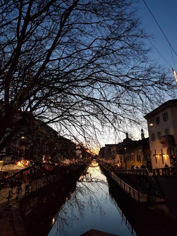 Residence Aramis Milan Downtown during the winter