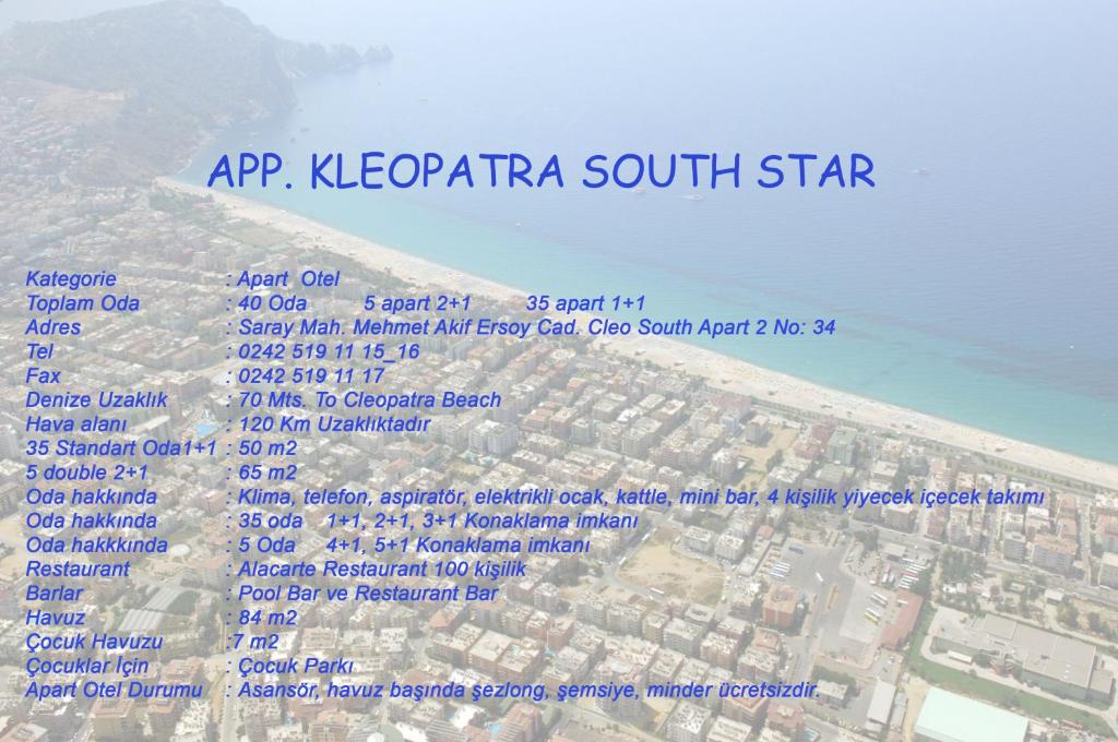Kleopatra South Star Apart Alanya Updated 2018 Prices