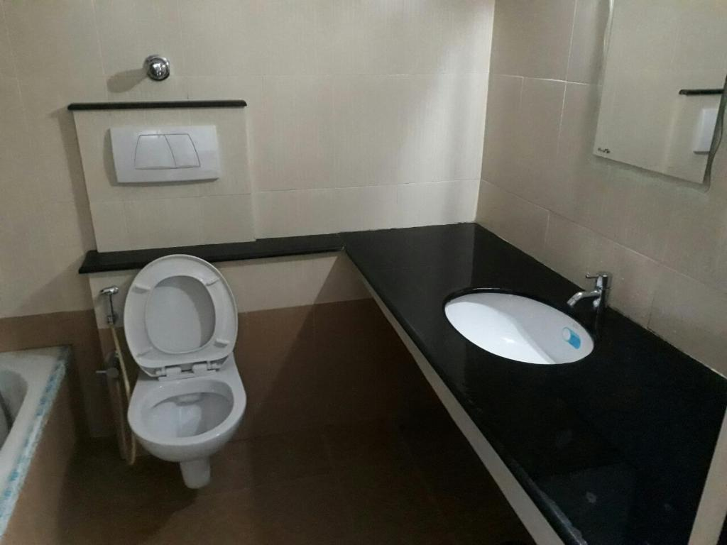 Bathroom Doors Trivandrum lake view apartment, trivandrum, india - booking