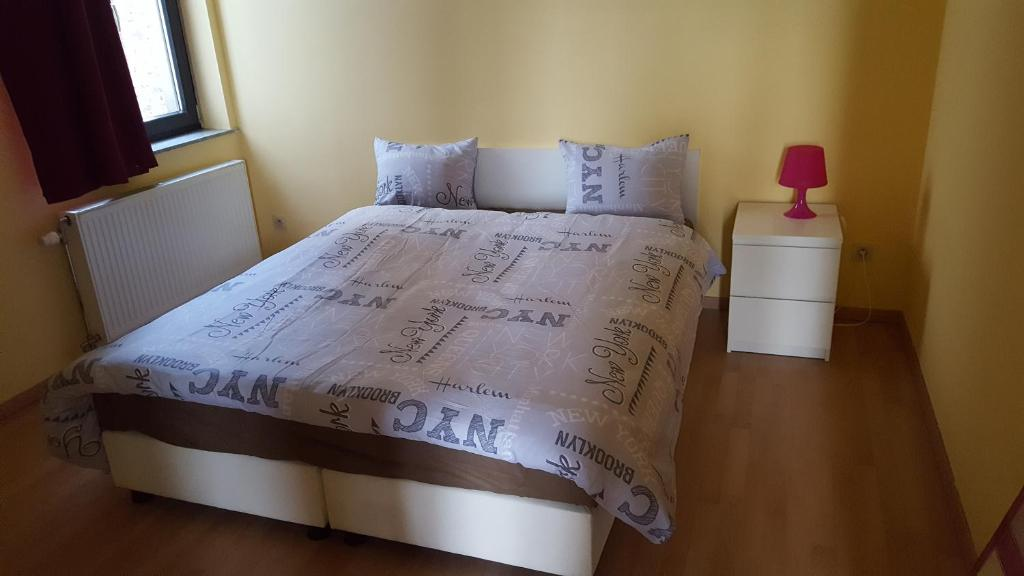 A bed or beds in a room at Residence Muken 3