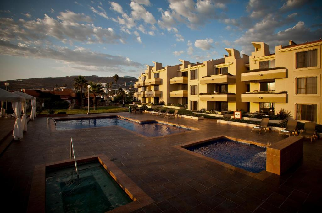 The swimming pool at or near Hotel Punta Morro