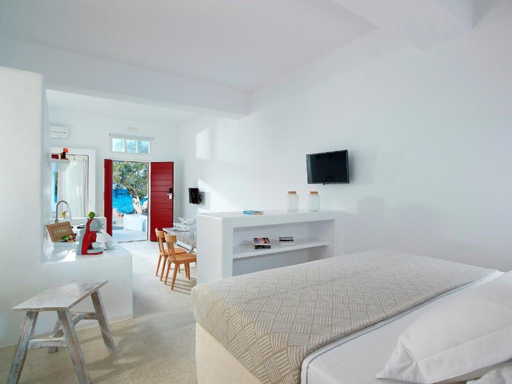 Apartman Unique Milos Suites (Görögo. Pollónia) - Booking.com