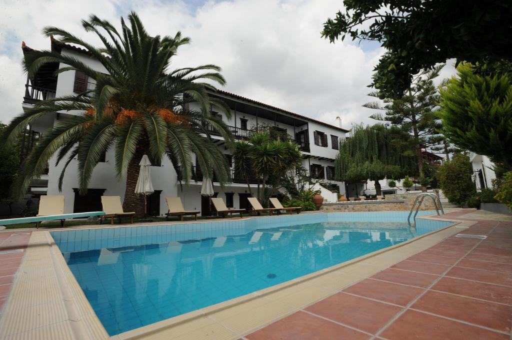 The swimming pool at or near Elli Hotel