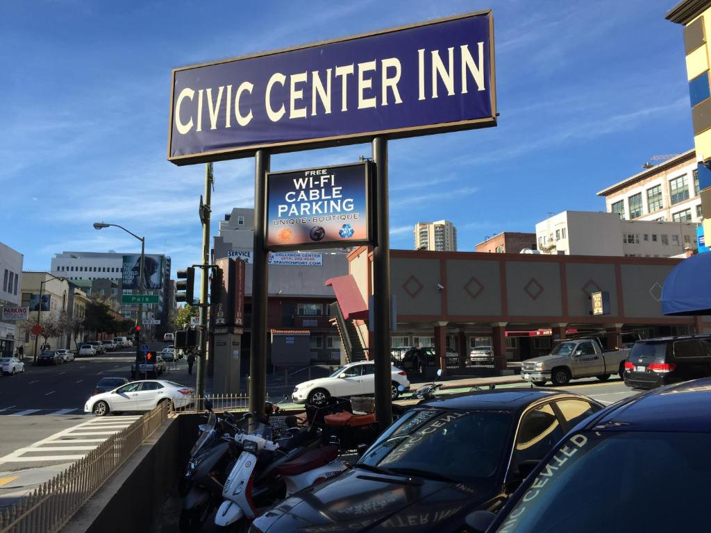 Civic center inn san francisco including reviews for Motor city auto center
