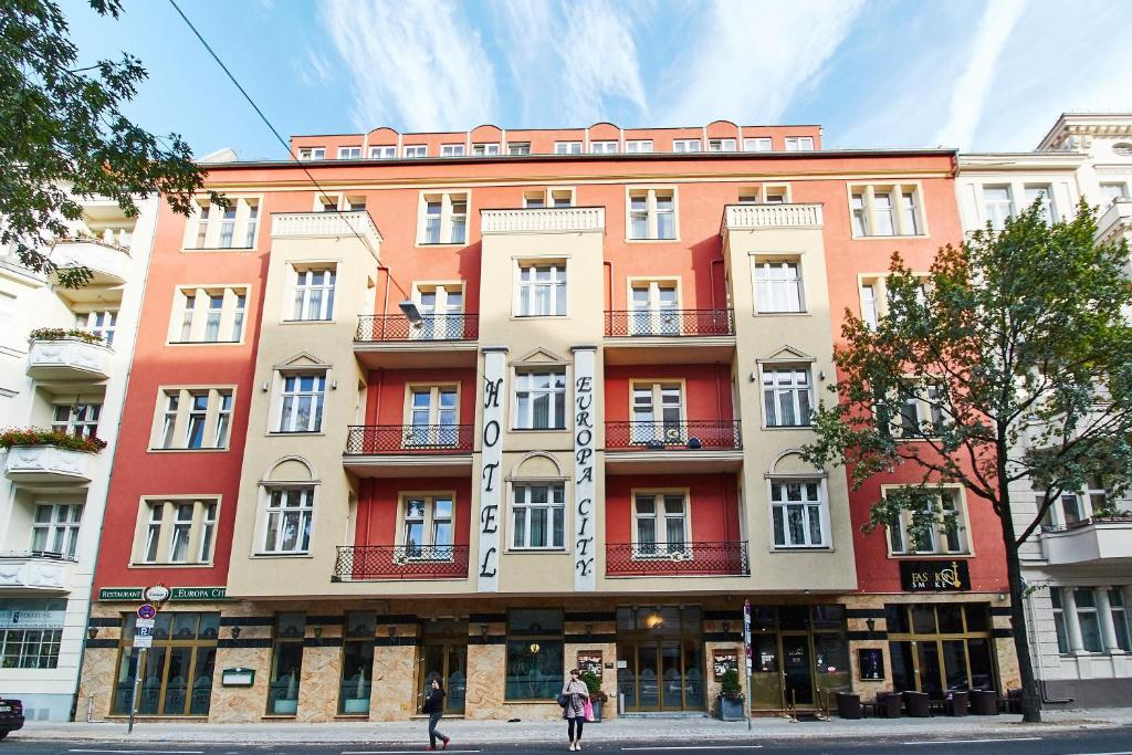 Hotel Europa City Deutschland Berlin Booking Com