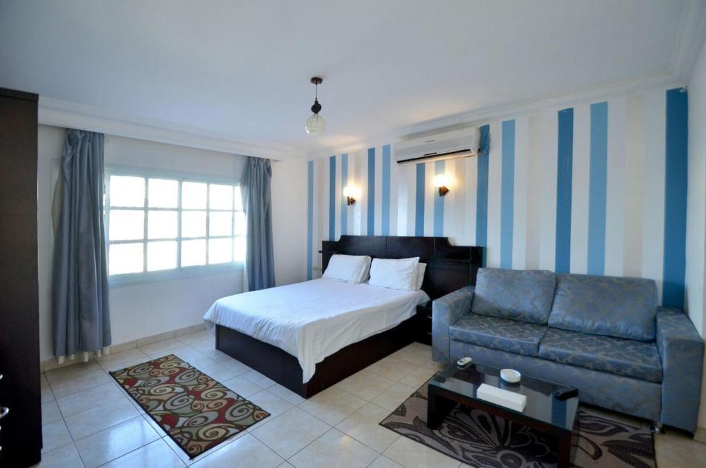 wow blue bedrooms apartment delta sharm wow club 3 sharm el sheikh egypt bookingcom