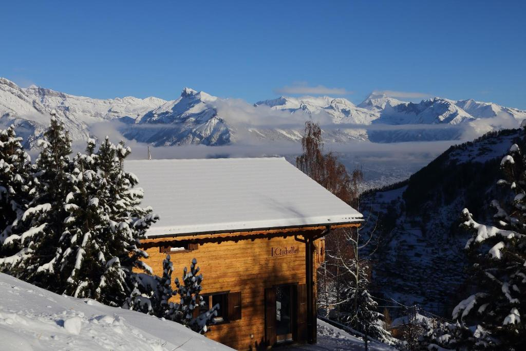 Chalet Clochette 4 Valles-Verbier during the winter