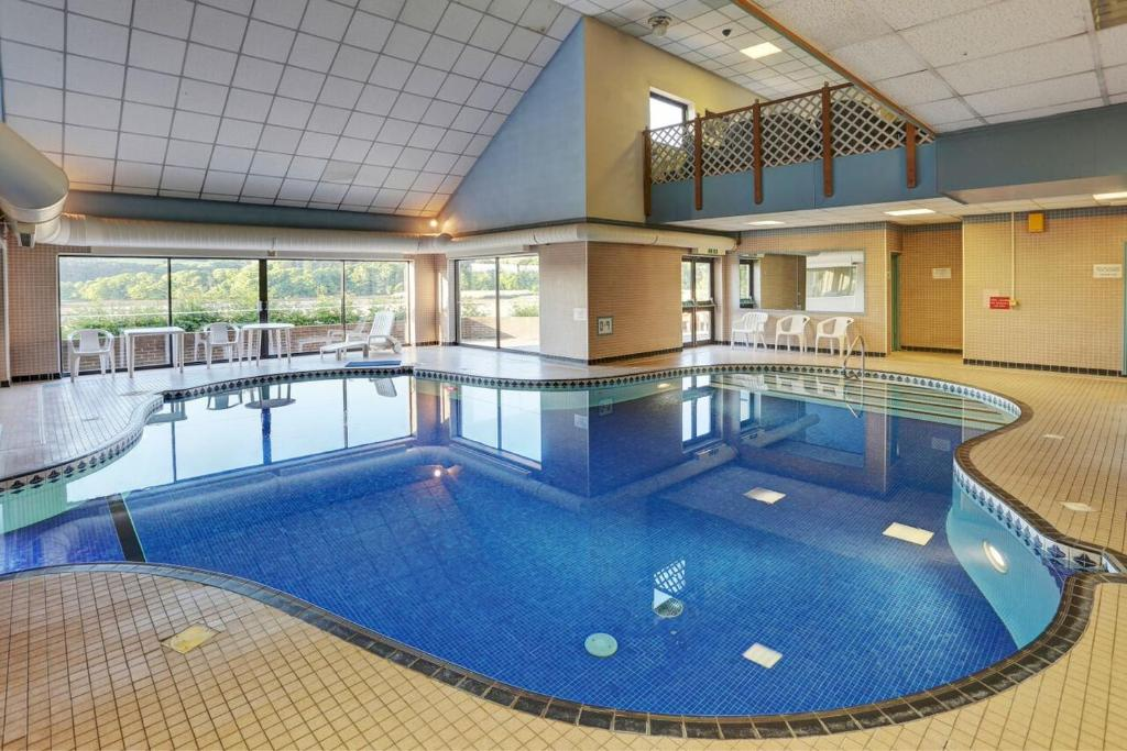 The swimming pool at or near Passage House Club