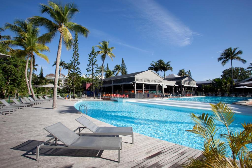 The swimming pool at or near La Creole Beach Hotel & Spa