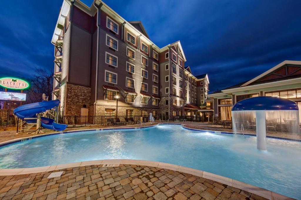 Temperature In Pigeon Forge Tennessee >> Black Fox Lodge Pigeon Forge Tn Booking Com
