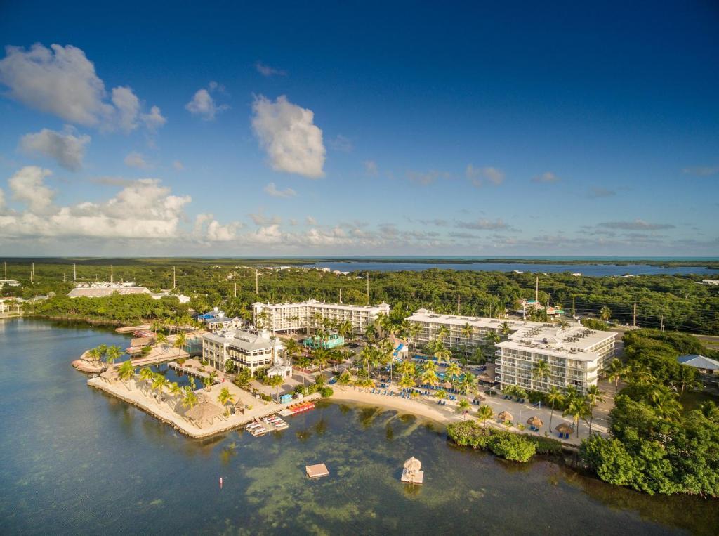 A bird's-eye view of Key Largo Bay Marriott Beach Resort