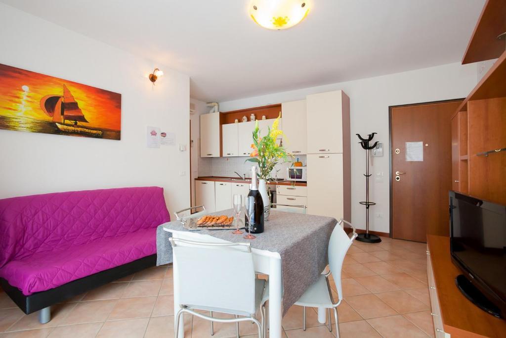 Posezení v ubytování Residence Le Caravelle Deluxe
