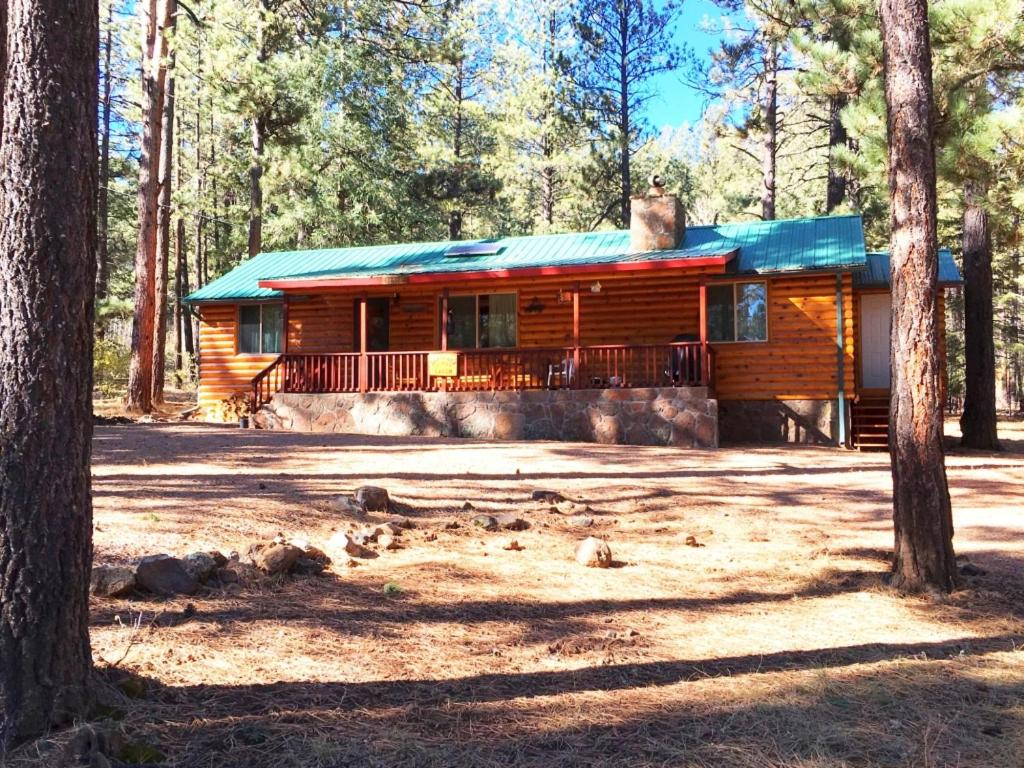 Vacation home sargent 39 s cabin greer az for Cabins near greer az