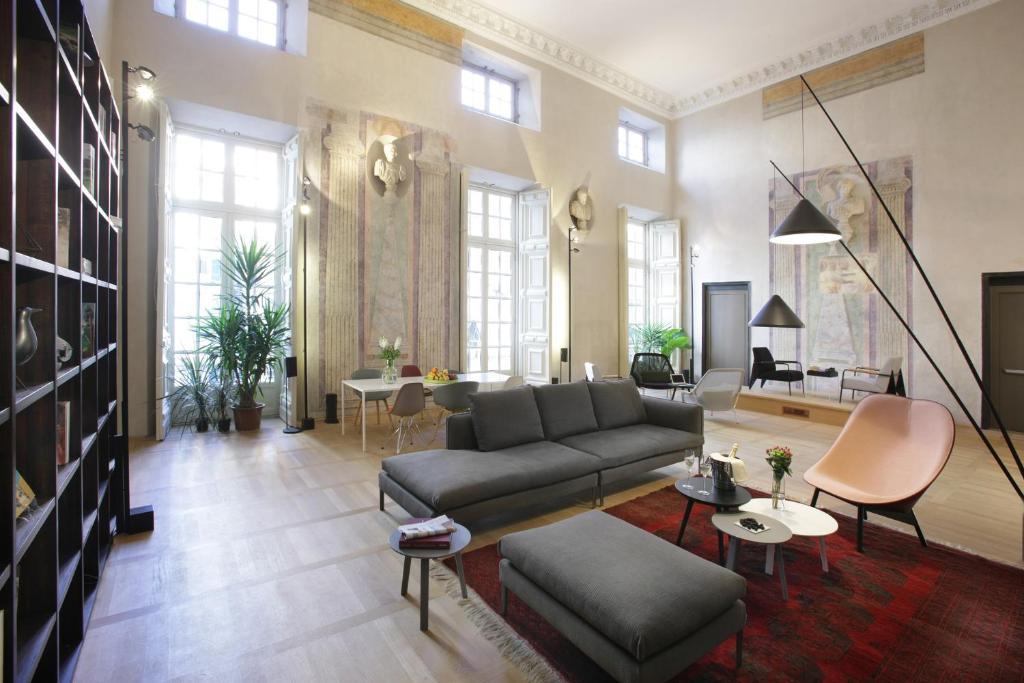 Beaux Hotels à Gênes : Hotel Palazzo Grillo, design et renaissance.