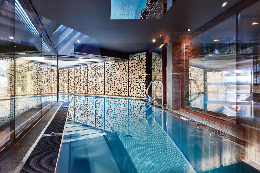 The swimming pool at or near Eder - Lifestyle Hotel