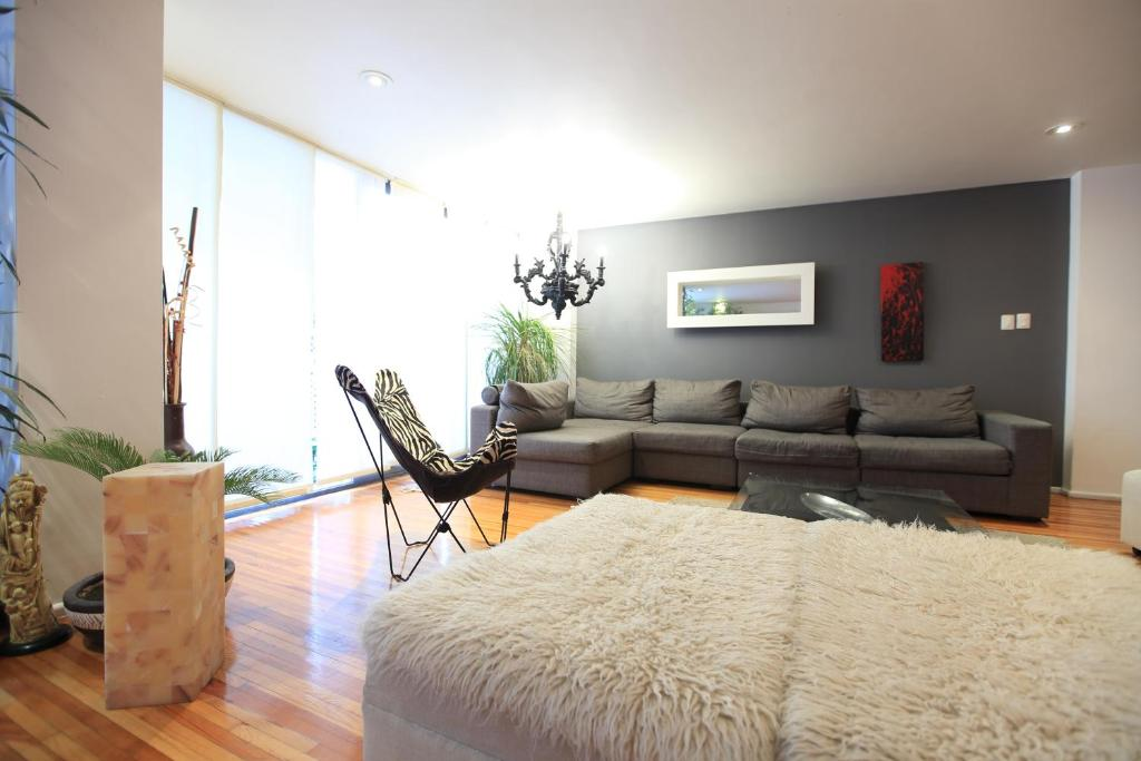 Gallery image of this property. Big modern 3 bedroom apartment in Polanco  Mexico City  Mexico