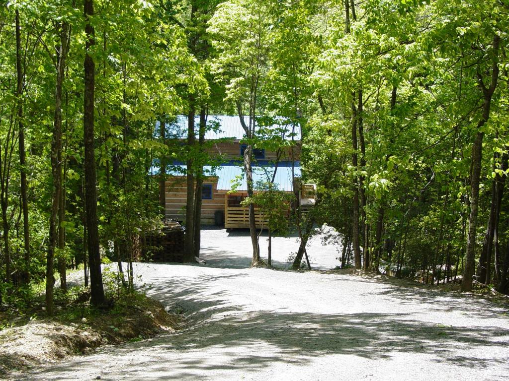 rock creek trout ridge cabin for boone rent hot in outside log privacy cabins tubs blue rentals stream fireplace parkway blowing vacation dr nc