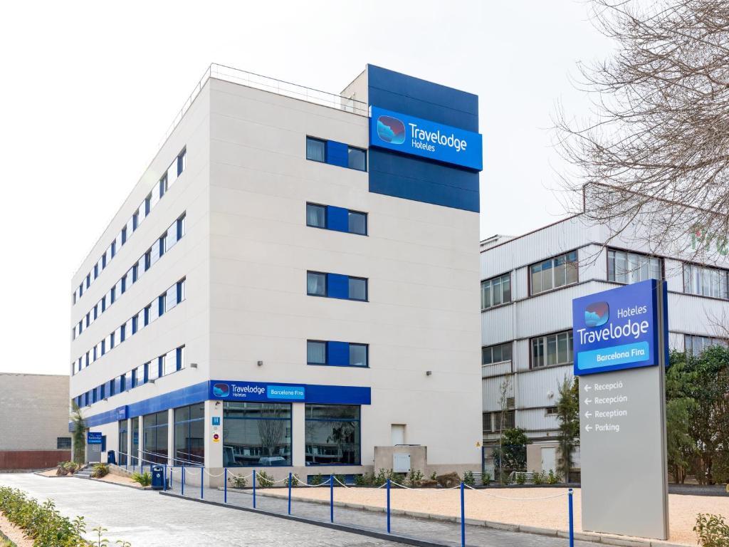 Travelodge Barcelona Fira Hospitalet De Llobregat Spain - Travelodge location map uk
